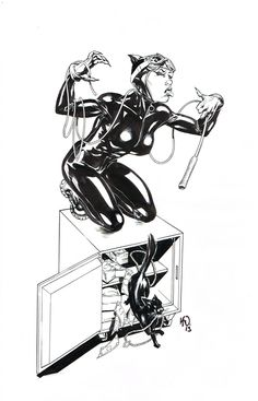 Catwoman by Karl Waller