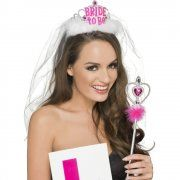 Purchase your Hen Party Kit for parties from the Halloween Spot. It is a pink and white hen party kit with Bride to Be Tiara & Veil, L Plate Badge and Wand. Hen Party Accessories, Fancy Dress Accessories, Costume Accessories, Ladies Fancy Dress, Party Kit, Party Ideas, Party Themes, Hens Night, Fancy Party