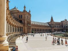 Plaza de España, Sevilla Palaces, Seville Spain, Southern Europe, Okinawa Japan, Chicago Restaurants, Andalucia, Beach Club, Plaza, Budapest