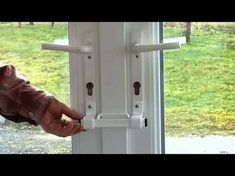 The Burglarybuster 2 French Door Keyless Cuff Lock - YouTube