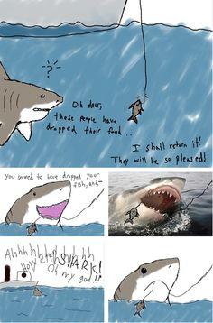 KaelahBee: Things I Love Thursday, shark week.
