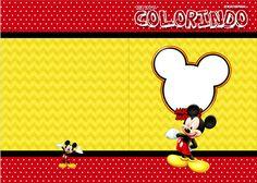 Uau! Veja o que temos para Revista Colorindo Mickey Mickey Minnie Mouse, Birthday, Fictional Characters, 1, Art Birthday, Fiesta Mickey Mouse, Journals, Birthdays, Fantasy Characters