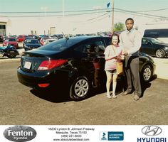 https://flic.kr/p/F3AQkP   Fenton Hyundai Customer Review   Excellent service. I'm a first time car buyer and it couldn't of been easier.  Abbey, deliverymaxx.com/DealerReviews.aspx?DealerCode=H248&R...