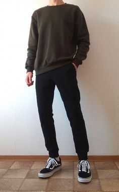 vans old skool boys guys outfit Retro Outfits, Casual Outfits, Men Casual, Fashion Outfits, Rock Outfits, Hipster Outfits, Korean Fashion Men, Mens Fashion, Sporty Fashion