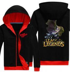 Fleece LOL League of Legends Ashe hoodie for men plus size