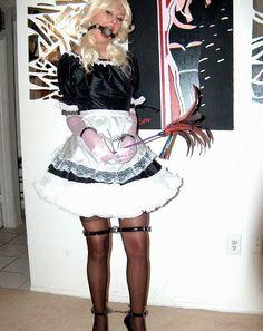 Crossdresser Sissy Femdom Bondage Maid Art Tied Petticoat Sissydress Sissycartoons