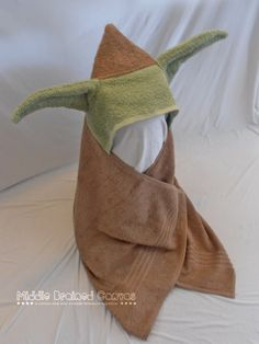 Yoda Bath Towel Will Turn Your Kid Into The Cleanest Jedi Master