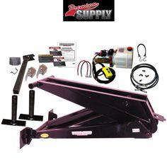 12 Ton (24,000 lb) Dump Trailer Hydraulic Scissor Hoist Kit – PH630 - Premium Supply