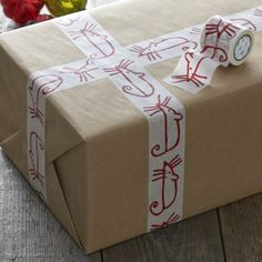 Red mouse tape - great for Christmas gift wrapping