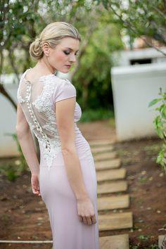Janita Toerien wedding gown   SouthBound Bride   http://www.southboundbride.com/dreamy-botanical-wedding-inspiration-by-nicola-bester   Credit: Nicola Bester