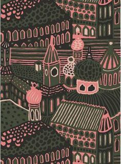 Marimekko fabrics - Kumiseva