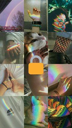 a e s t e t i c (rainbow) Rainbow Wallpaper, Mood Wallpaper, Aesthetic Pastel Wallpaper, Tumblr Wallpaper, Aesthetic Backgrounds, Screen Wallpaper, Aesthetic Wallpapers, Wallpaper Backgrounds, Gay Aesthetic