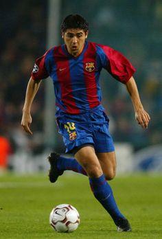 Juan Roman Riquelme of Barcelona in Legends Football, Football Icon, Best Football Players, Football Photos, World Football, Soccer Players, Football Soccer, Soccer Teams, Fc Barcelona