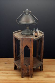 Antique Arts and Crafts Side Table.