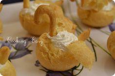Cooking easy: Cigni in pasta choux e Cream puffs