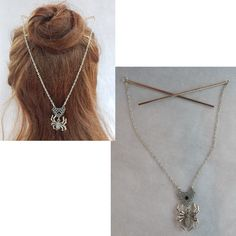 Celtic Necklace, Cat Necklace, Tassel Necklace, Arrow Necklace, Cat Jewelry, Animal Jewelry, Whimsical Hair, Gothic Hairstyles, Hair Sticks