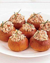 Mini Brioche #LobsterRolls - Comfort Food Starters on Food  Wine
