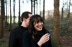 Portglenone Forest Engagement Photography