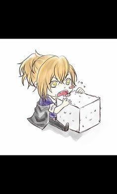 This is so cute!!! Yuma loves his sugar!