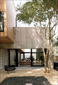 Modern home decor diy – Southern Home Decor Home Architecture Styles, Futuristic Architecture, Architecture Details, House Architecture, Concrete Architecture, Modern Exterior, Exterior Design, Wood House Design, Southern Homes