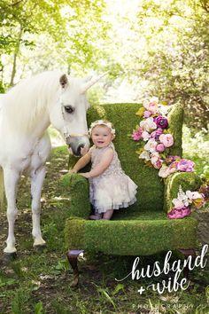 Unicorn Horse, Baby Unicorn, Unicorn Birthday, Baby Girl Photography, Children Photography, Animal Photography, First Birthday Photos, Birthday Gifts For Kids, Best Friend Images