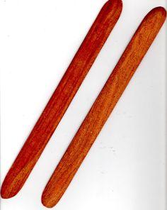 8 Inch Hard Wood Weaving Swords by HandCraftersofElPaso on Etsy, $6.99