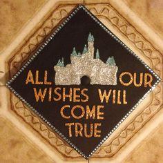 Graduation Cap. Disney inspired.