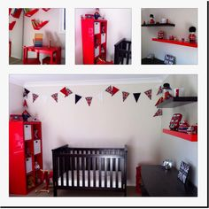 London themed nursery