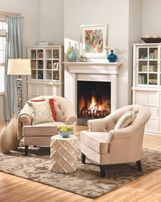 Style Archives - Home is Here Chic Living Room, Cozy Living Rooms, Latest Colour, Fireplace Wall, Home Decor Trends, Good Night Sleep, House Warming, Blog, Furniture