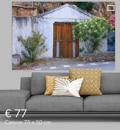Nieuw in mijn Werk aan de Muur shop: Lieftallig huisje Lindos (Rhodos)