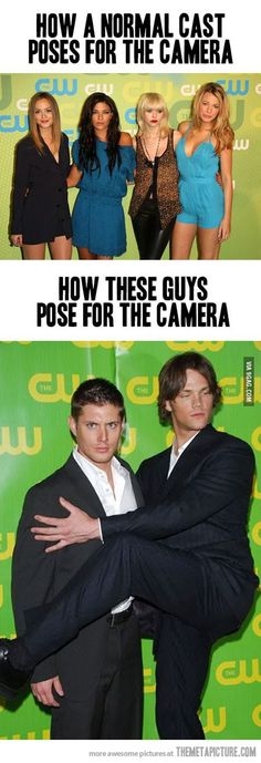 Normal cast vs supernatural cast