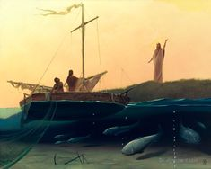 #Fishers of #Men by Victor #Bregeda () #ChristianFaith #HolyScripture #ChristianArt