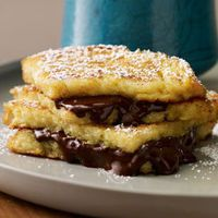 Chocolate French Toast Sandwiches