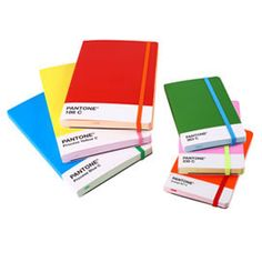 True creative people never stop making notes so what better than to scribble and jot in a Pantone notebook