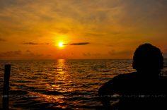 enjoy sunrise with music