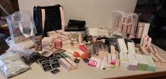 Mary Kay HUGE Lot Lipstick Perfume Foundation Samples ECT  #MaryKay