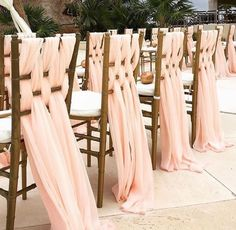 Beach Wedding Ceremony Chairs #LadyLux #LuxurySwimwear #Bikinis