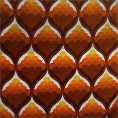 Retro Patterns, Design Pattern, 1970 S, Google Search, 1970'S Fabric, 60S Pattern, 1970S Fabric, 1970S Prints