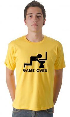 Dica #palcofashion #Camiseta - Game Over Privada #moda #fashion