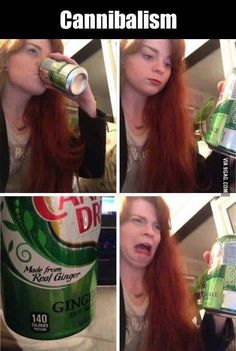 No affense to people with red hair but this is funny.