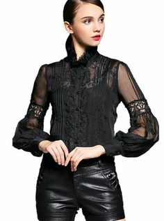 f4bcc9b36855 MissFoFo Band Lantern Floral Bow Blouse Commercial 2017 Slim Shirt White  Female Elegant Embroidery Slim Black One Piece Shirt 2