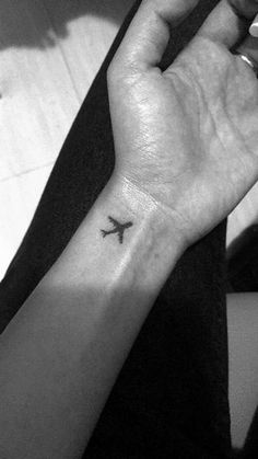 Airplane tattoo