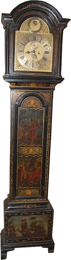 18th Century, English Grandfather Clock
