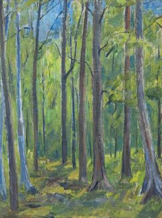 View Summer forest by Eva Cederström on artnet. Browse upcoming and past auction lots by Eva Cederström. Nordic Art, Global Art, Art Market, Female Art, Finland, Oil On Canvas, Past, Auction, Artwork