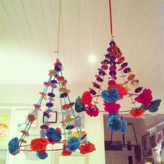absolutely beautiful things: Polish paper chandelier