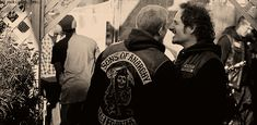 Pin for Later: 38 Sexy Reasons We Miss Charlie Hunnam on Sons of Anarchy When he's just palling around with Tig.