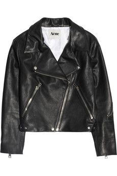 Bargain Of The Day (if you're a size 36 that is;-))  A closet must have for a few seasons now, the leather perfecto is bond to stick with s if you want my advice… So, now is still the time to get yourself one…  Here is Acne's version at 50% on NET-A-PORTER.COM! Needless to say you'll have to hurrrryyyyy!!