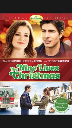 The Nine Lives of Christmas, Hallmark, 2014, Brendan Routh, Kimberly Sustad.  Love.