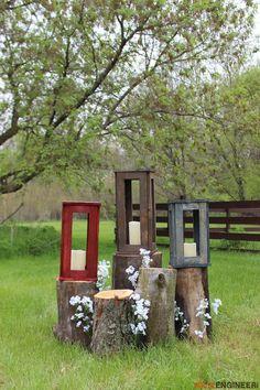 DIY Boxwood Lantern plans  -Free DIY Plans | rogueengineer.com #BoxwoodLantern #DecorDIYplans