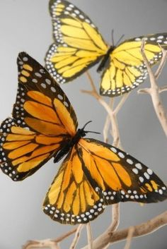 """Decorative Monarch Butterflies